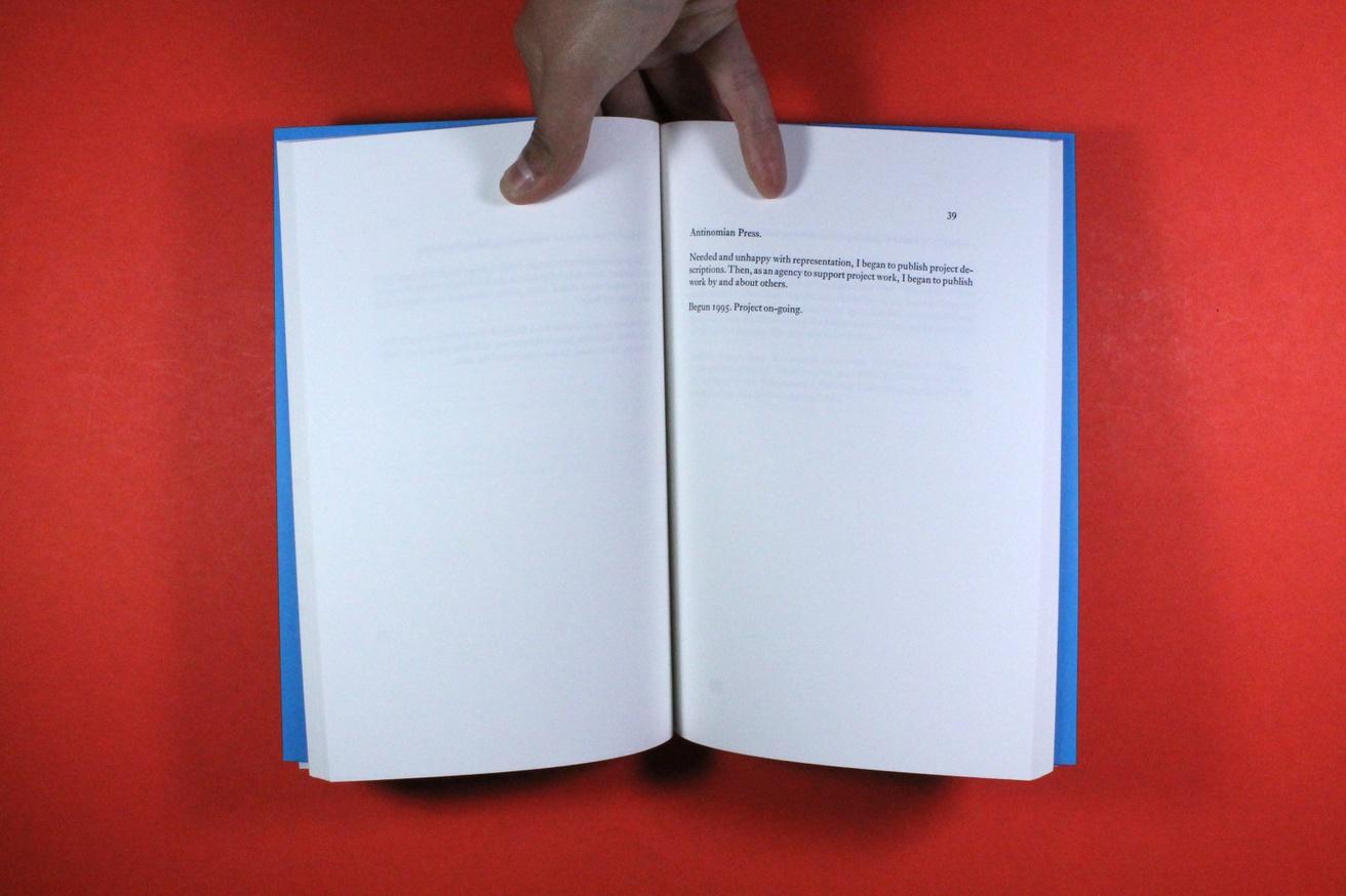 Prospectus : 42 Works by Ben Kinmont
