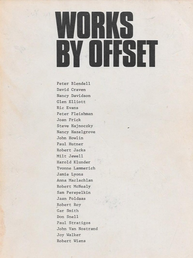 Works by Offset