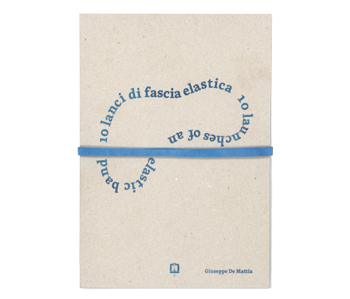 10 lanci di fascia elastica (10 launches of an elastic band)