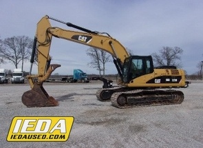Used 2010 Caterpillar 329DL For Sale