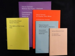 Harun Farocki: Set of 5 Zines