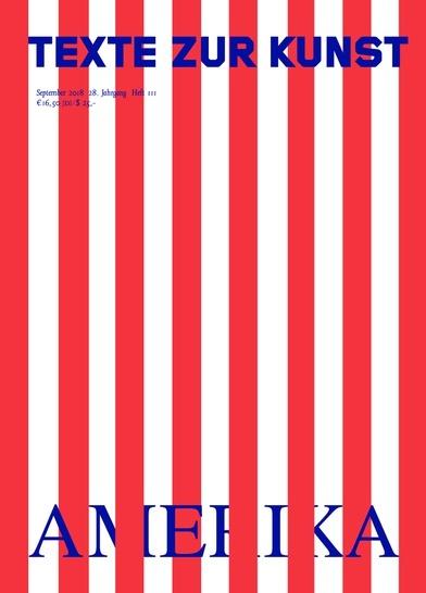 Texte zur Kunst : Amerika