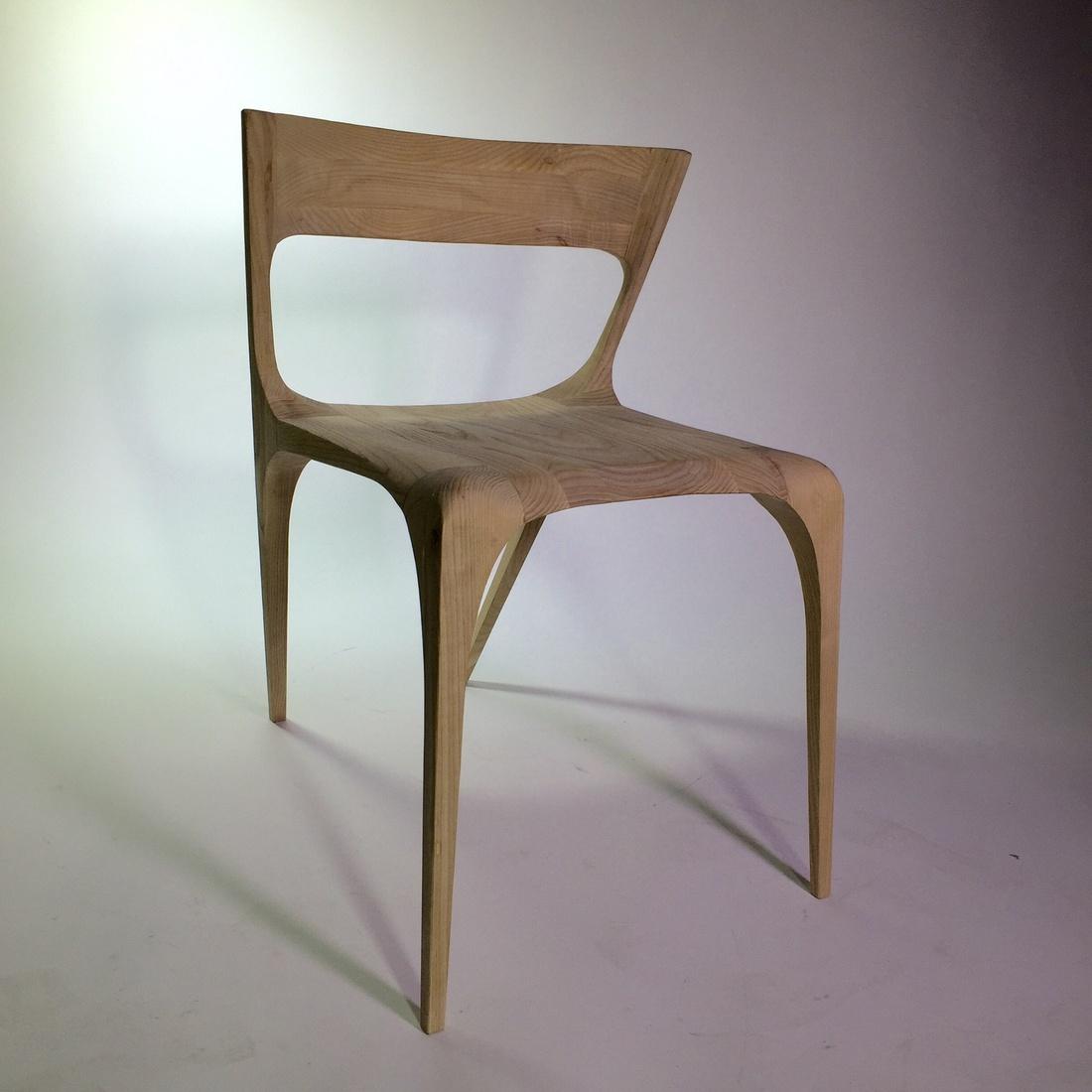 Chair by Hugo Fenaux