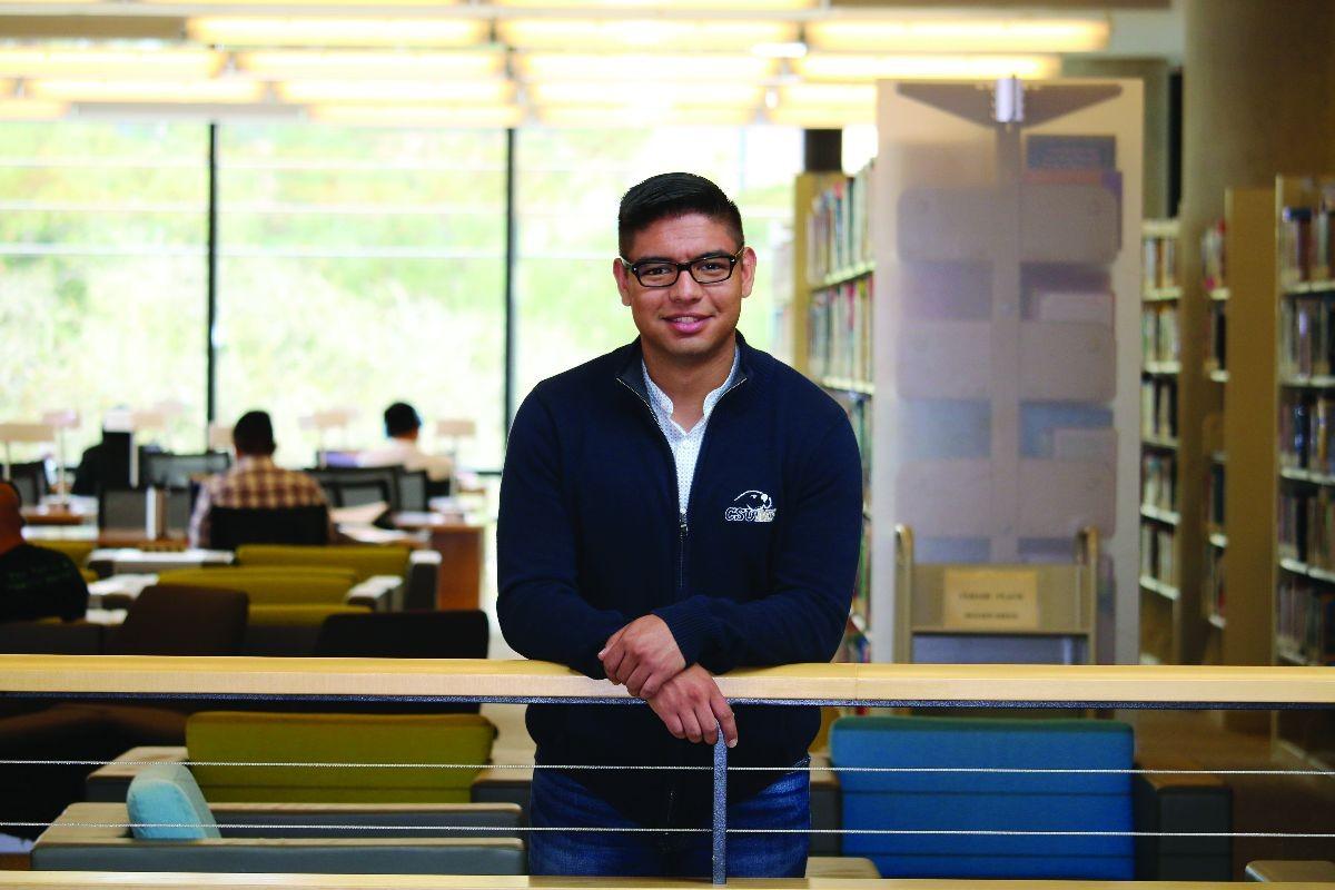CAHSS Alumni Impact:  Leaving His Mark