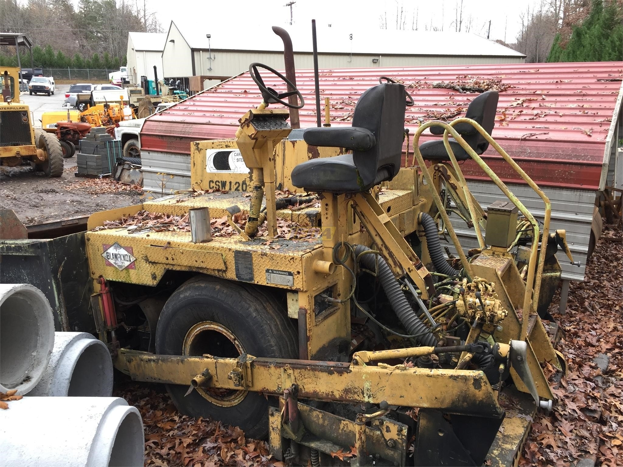 Used 1988 Blaw-Knox PF115 For Sale