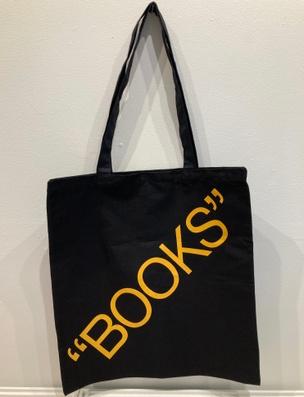 """Books"" Tote - Yellow"