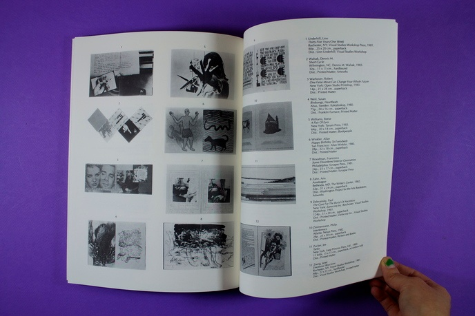 Offset :  A Survey of Artists' Books thumbnail 4