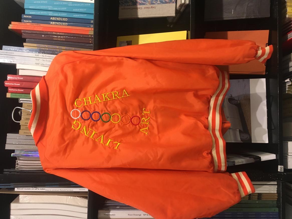 Living Art Chakra Jacket Orange