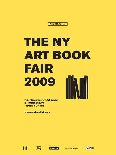 Printed Matter's 2009 NY Art Book Fair