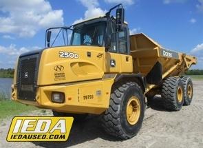 Used 2012 John Deere 250D II For Sale