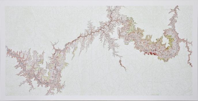 Grand Canyon Suicide Map / Metta Meditation, Grand Canyon National Park thumbnail 2