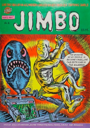 Jimbo: Like The Skull Of  An Ass, Wherein A Roguish Boy Hath Concealed A Farthing Candle