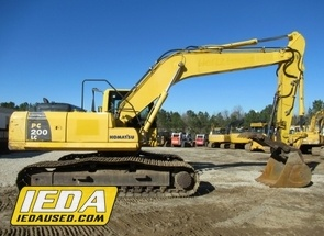 Used 2012 Komatsu PC200 LC-8 For Sale