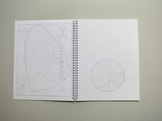 Drawing Hilma Af Klint : A  Coloring Book Influenced by the Work of Hilma Af Klint thumbnail 7