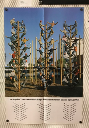 Lineman : Los Angeles Trade-Technical College Spring 2009 Poster