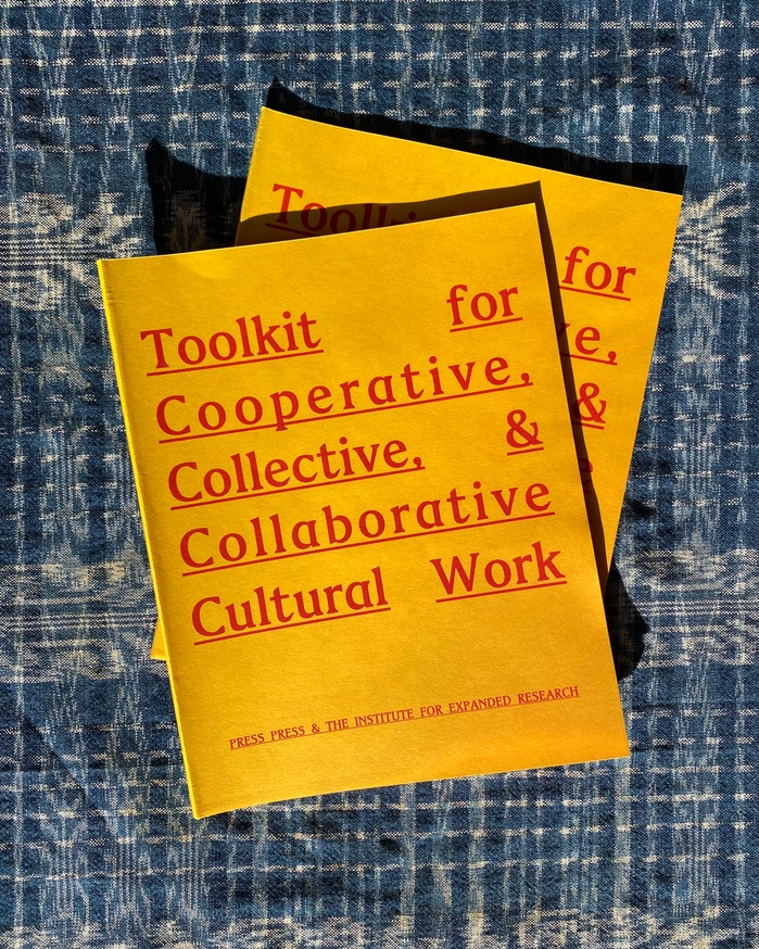 Toolkit for Cooperative, Collective, & Collaborative Cultural Work