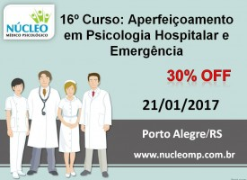 Aperfeiçoamento em Psicologia Hospitalar e Emergência