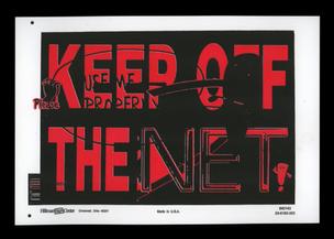 KEEP OFF THE NET Print