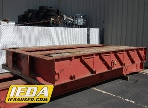 Used 1989 LOAD KING Deck Section - 65 Ton - 102 x 12' - Flat For Sale