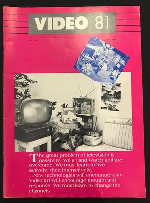 VIDEO 81 Magazine