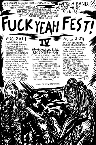 Fuck Yeah Fest 2007 Poster