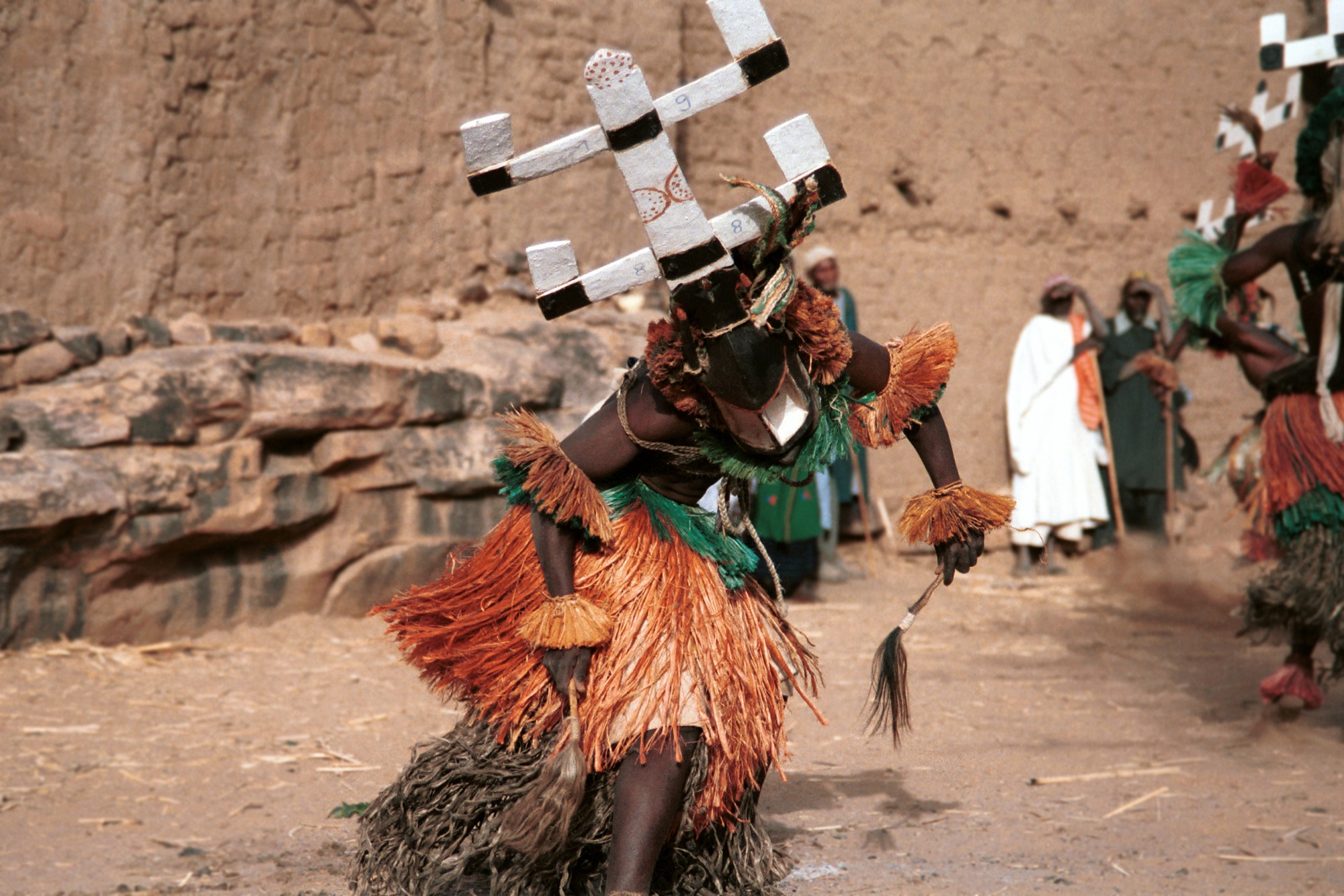 Kanaga mask dances.