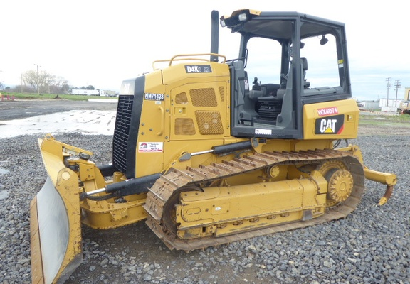Used 2015 Caterpillar D4K2 XL For Sale