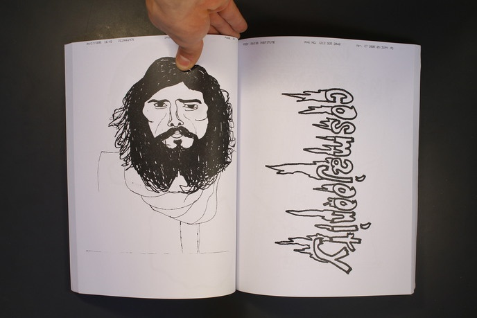 Viva La Marriage : Drawings Faxed by Frank Olive and Rudy Shepherd thumbnail 6