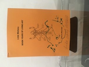 Seven Years of Living Art Performance Statement Orange