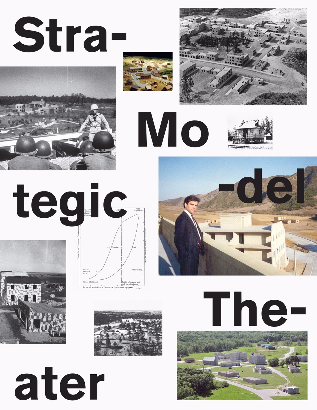 Strategic model theater collage.