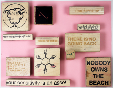 A new stamp project by David Horvitz