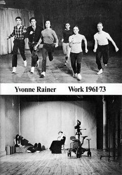 Yvonne Rainer: Work 1961–73