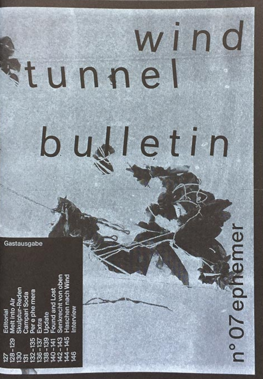 Wind Tunnel Bulletin