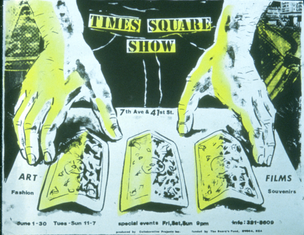 Times Square Show Poster