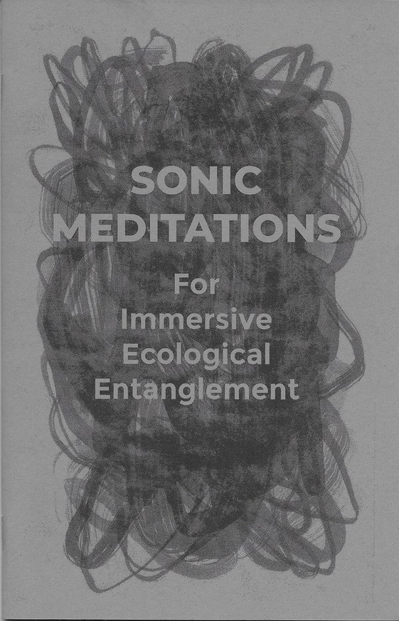 SONIC MEDITATIONS FOR IMMERSIVE ECOLOGICAL ENTANGLEMENT
