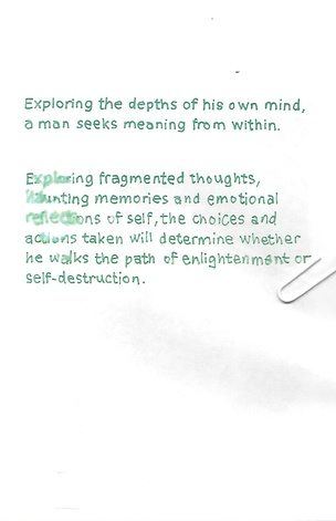 Exploring the depths of his own mind, a man seeks meaning from within