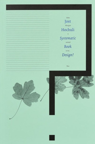 Systematic Book Design?