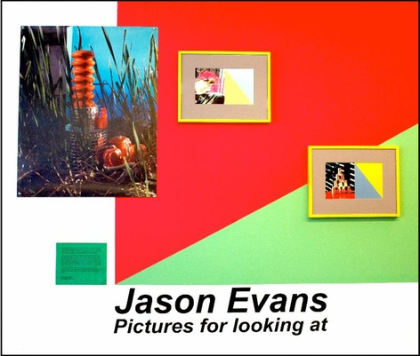 'Pictures for Looking at' - An installation by Jason Evans