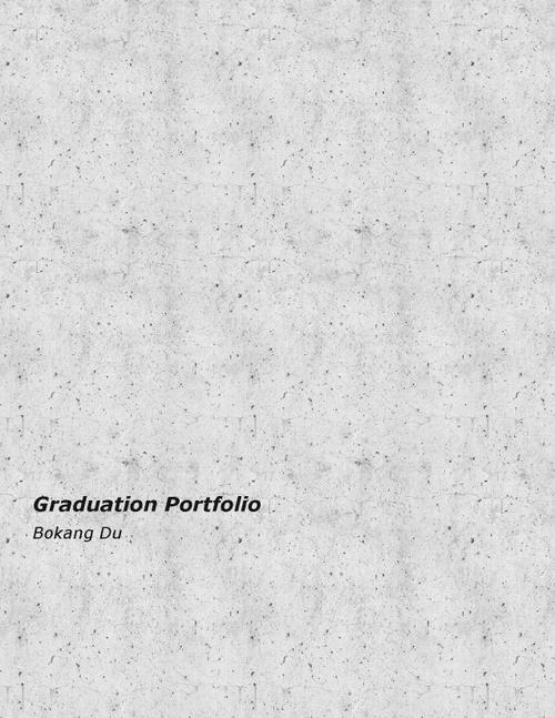 ARCH DuBokang SP20 Portfolio.pdf_P1_cover.jpg