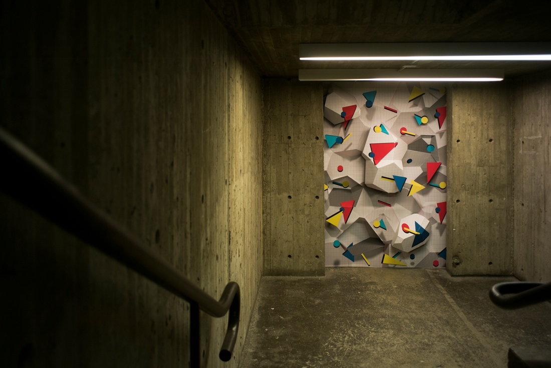 Installation by Zelig Fok and Liwei Wang.