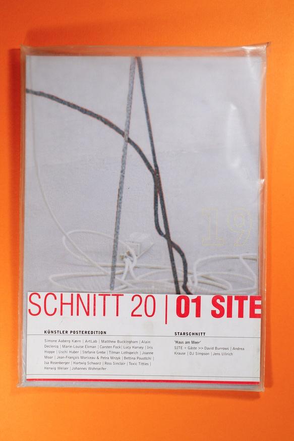Schnitt 20 / 01 Site Künstler Posteredition