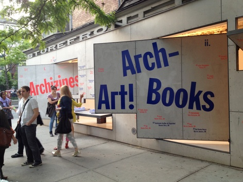 <i>Arch-Art! Books</i> @ Storefront for Art and Architecture