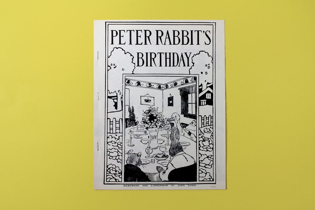Peter Rabbit's Birthday