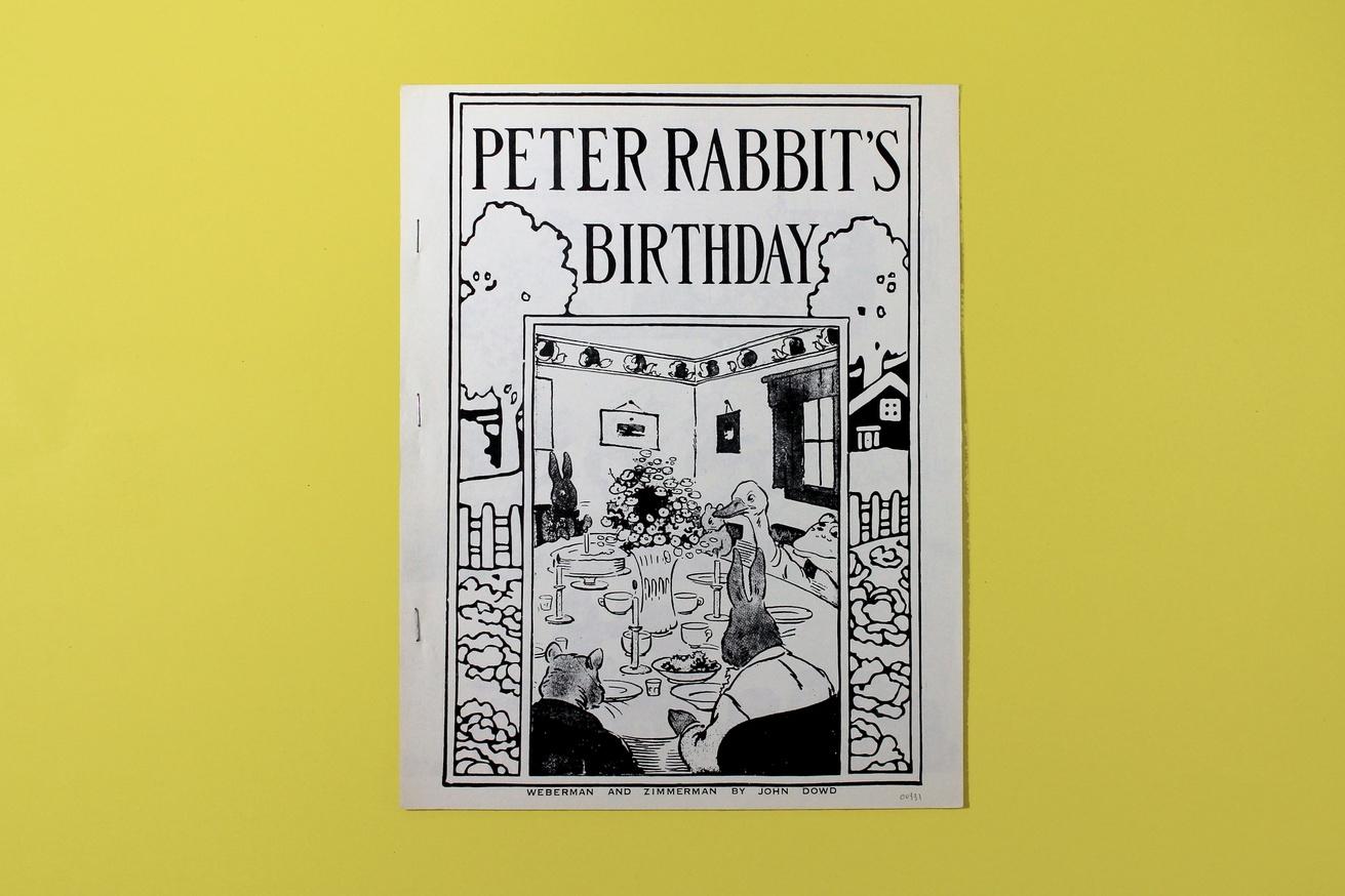 Peter Rabbit's Birthday