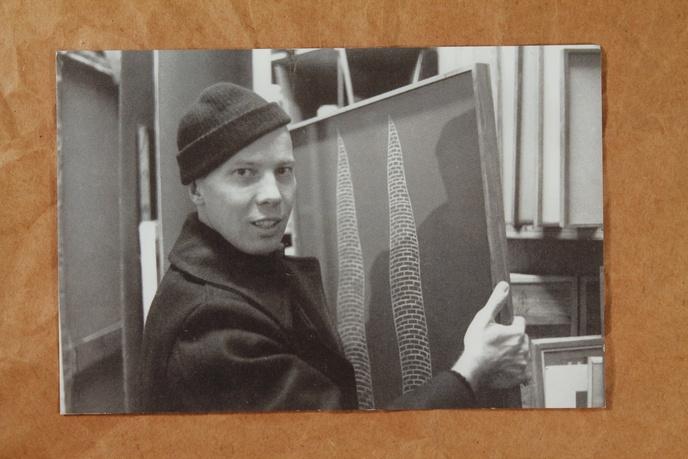 Ray Johnson Black and White Postcards thumbnail 4