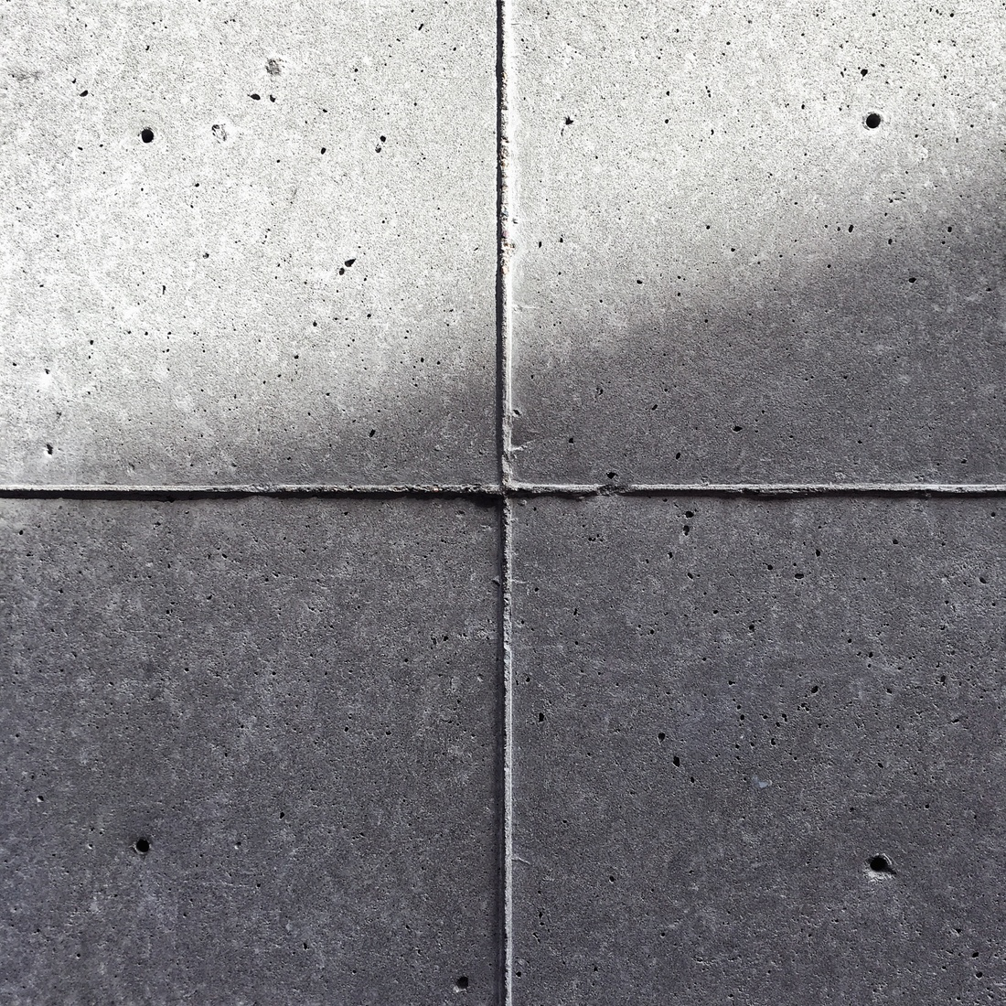 Concrete swatch in a Louis Kahn building.