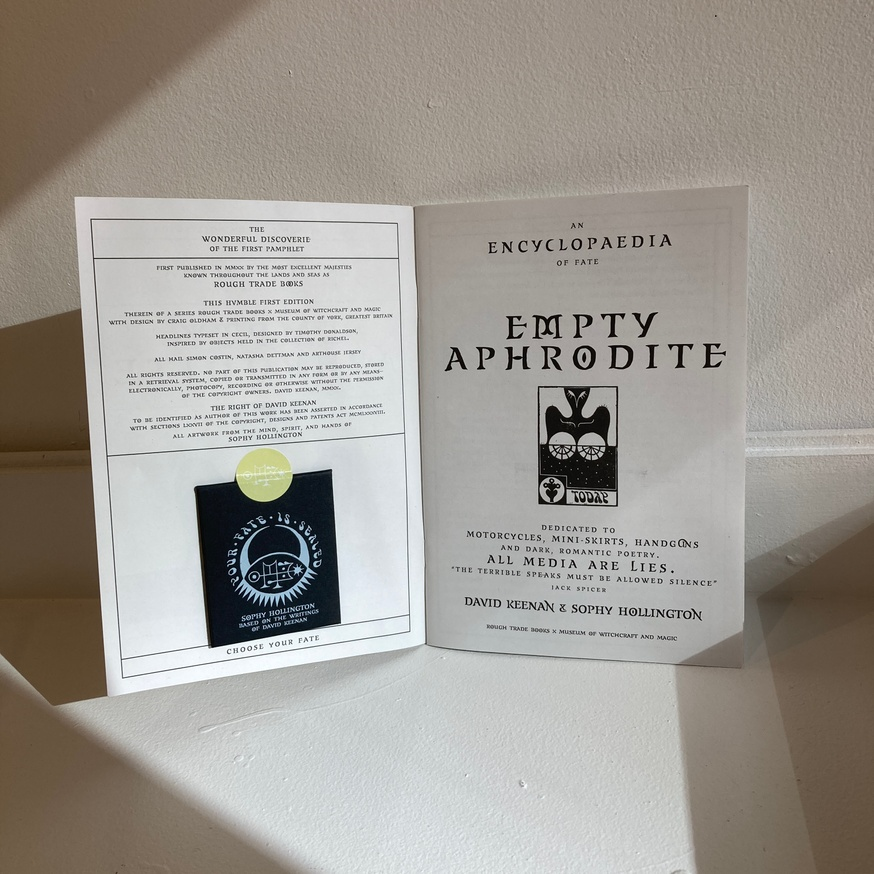 Empty Aphrodite: An Encyclopaedia of Fate thumbnail 3