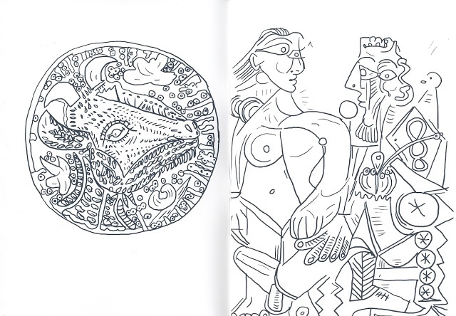 Christian Gfeller - Picasso Coloring Book - Printed Matter