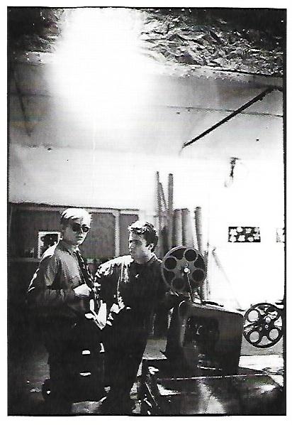 Andy Warhol & Gerard Malanga Postcard