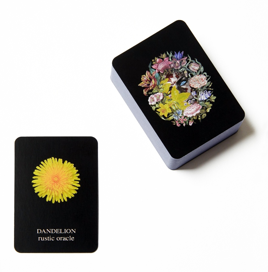 Flowers and Their Meanings, Playing Cards